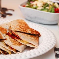 Súpergóðar quesadillas með nautahakki og guacamole